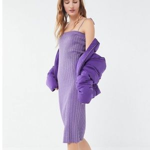 NWT urban outfitters ribbed knit dress
